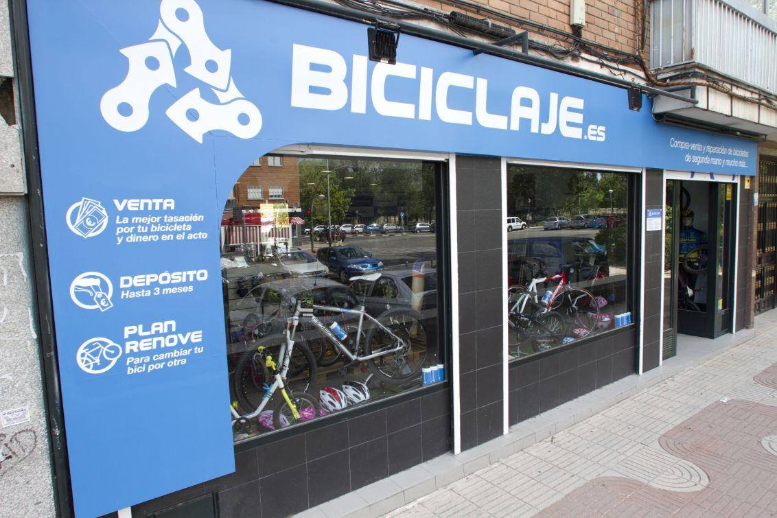 exterior tienda biciclaje